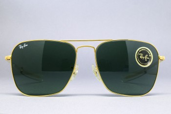 B&L Ray-Ban USA Caravan Straight temple (58-16) Arista / G-15 / USA