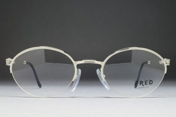 FRED Lunettes FEROE (51-21) Platinum Plated / FRANCE