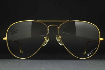1990s B&L Ray-Ban USA Large METAL II RX Frame (62-14) Arista / USA