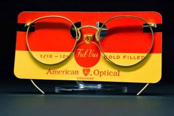 1940s American Optical SAMPSON (44-20) 1/10-12K GF FUL-VUE Frame / USA